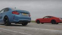 BMW M2 versus Ford Mustang