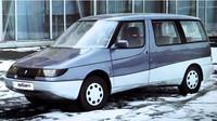Moskvič 2139 Arbat byl nadčasovou vizí velkoprostorového vozu.