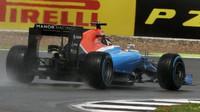 Pascal Wehrlein v závodě v Silverstone