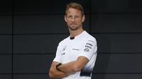 Jenson Button v Silverstone