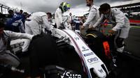 Felipe Massa před závodem v Silverstone