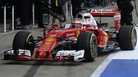 Kimi Räikkönen při posledních sezónních testech v Silverstone, druhý den