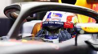 Pierre Gasly při posledních sezónních testech v Silverstone, první den