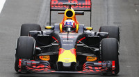 Piere Gasly při posledních sezónních testech v Silverstone, druhý den