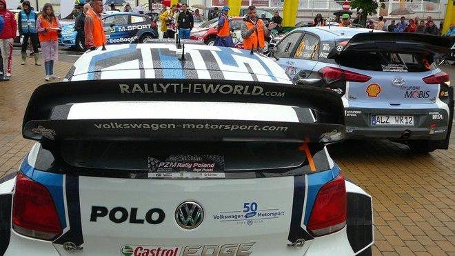 VW Polo R WRC a Hyundai i20 WRC