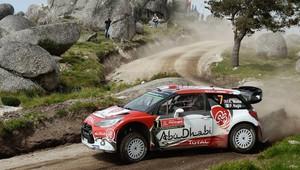 Rally Finland: Meeke navyšuje vedení, Breen jde na třetí místo, Camilli tvrdě havaroval - anotační obrázek