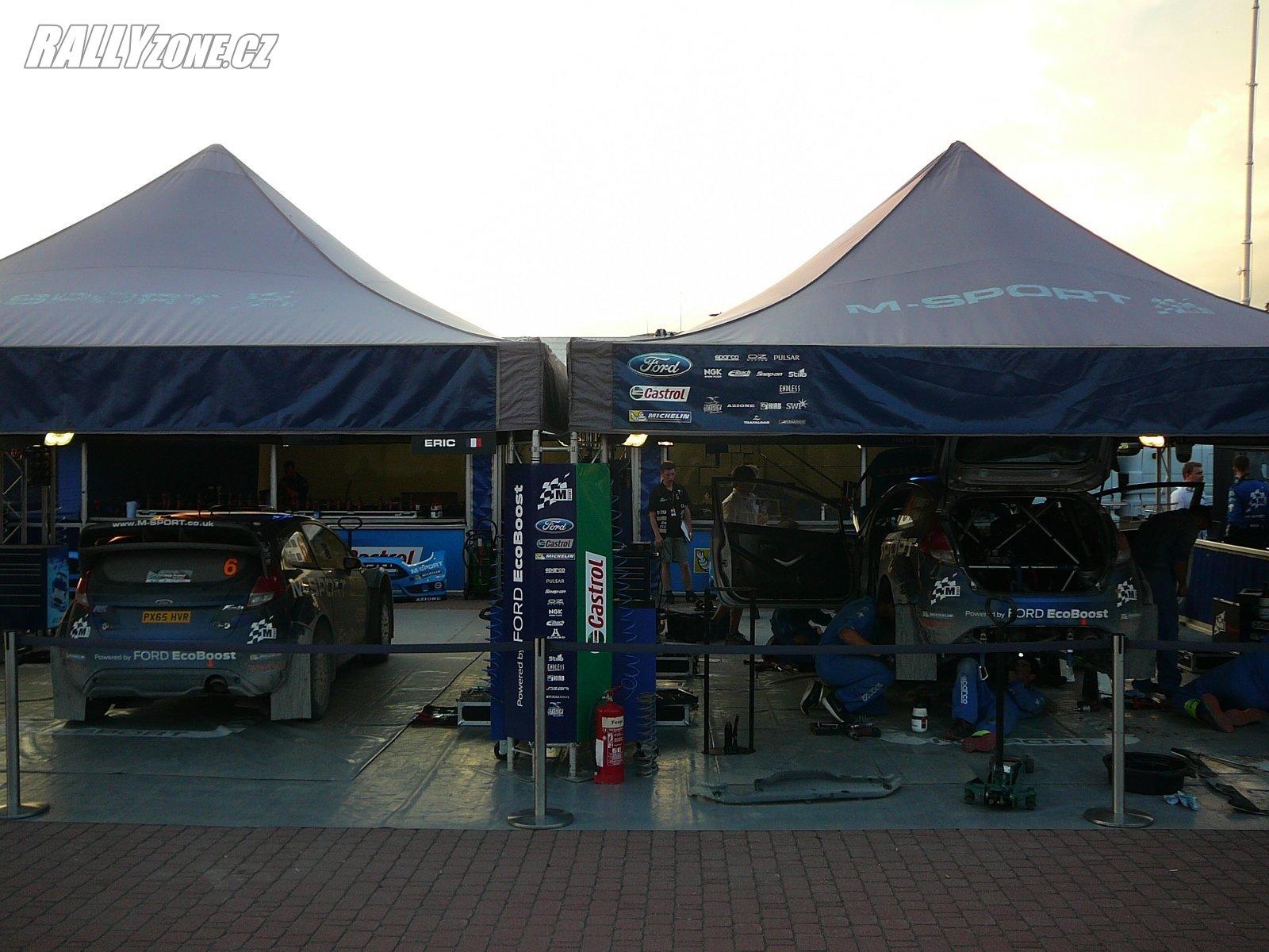 M-Sport s testy začal před Finskou rally