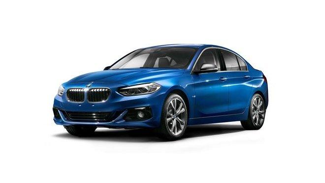 BMW uvedlo v Číně řadu 1 s karosérií sedan, pravděpodobně má pohon předních kol.