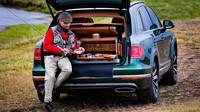 Bentley Bentayga s rybářským paketem