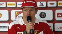 Kimi Räikkönen v Maďarsku
