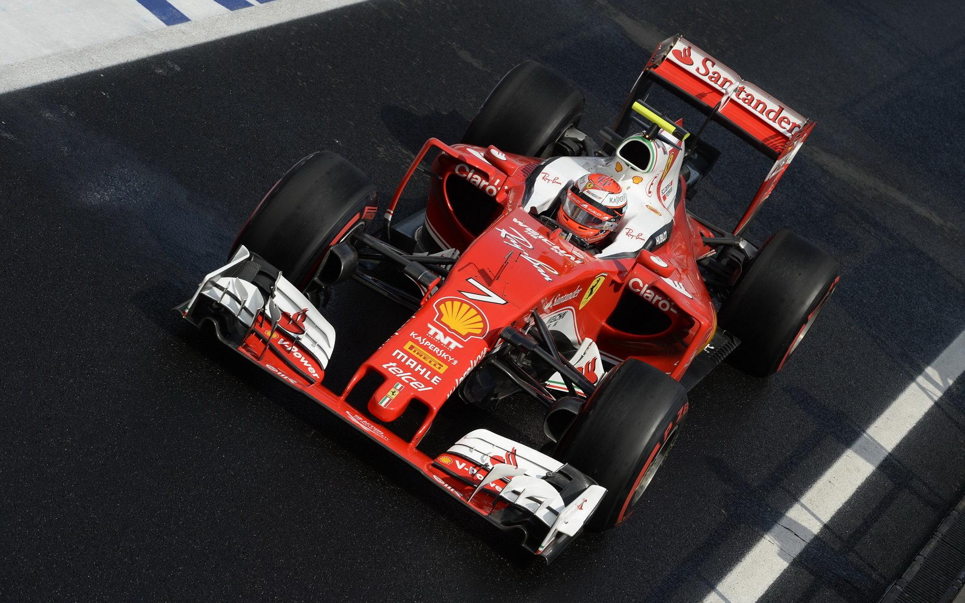 Ferrari po Maďarsku chválí Kimiho: