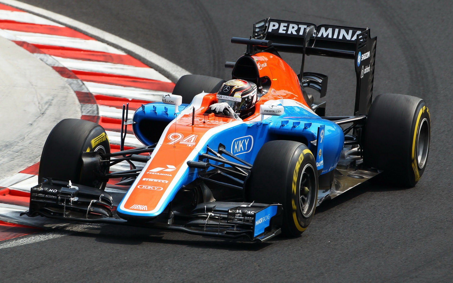NEJVYŠŠÍ RYCHLOSTI: Wehrlein s Manorem 325,9 km/h, McLaren o 10 km/h méně - anotační obrázek