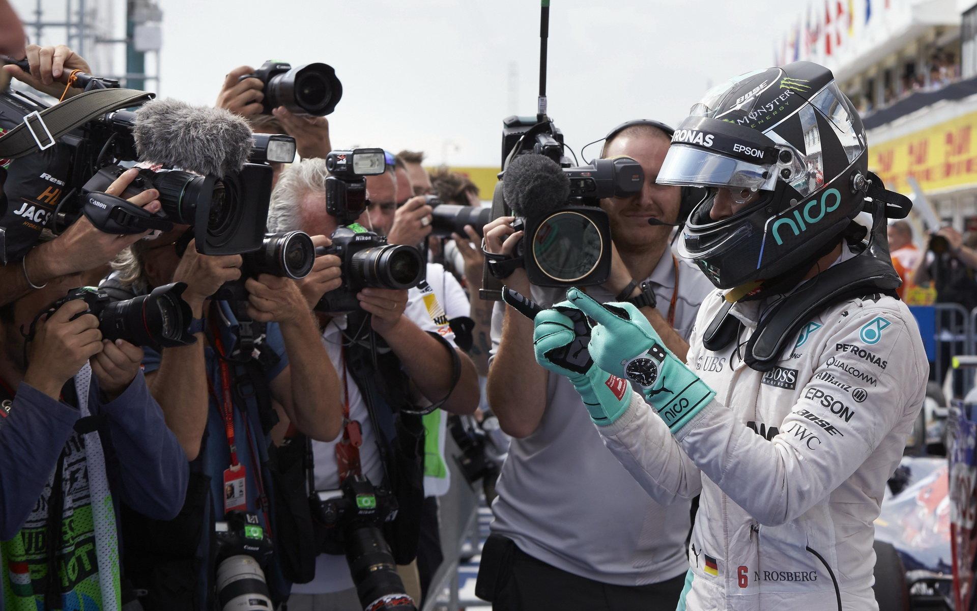 Rosberg: Body nepočítám, už se těším na domácí závod na Hockenheimu - anotační obrázek