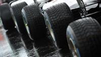 Pneumatiky Pirelli při sobotní deštivé kvalifikaci v Maďarsku
