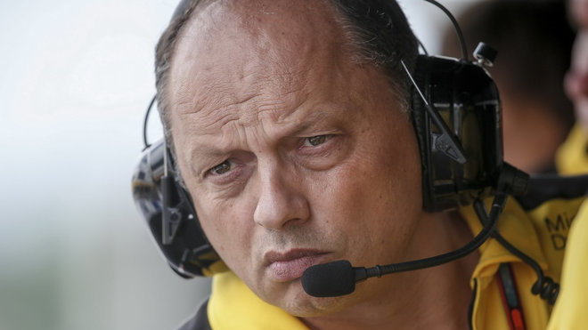 Šéf Vasseur opouští Renault, vydržel pouze rok - anotačné foto