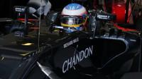 Fernando Alonso zatím prožívá v Belgii zklamání