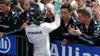 Nico Rosberg po závodě v Maďarsku