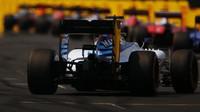 Felipe Massa v závodě v Maďarsku