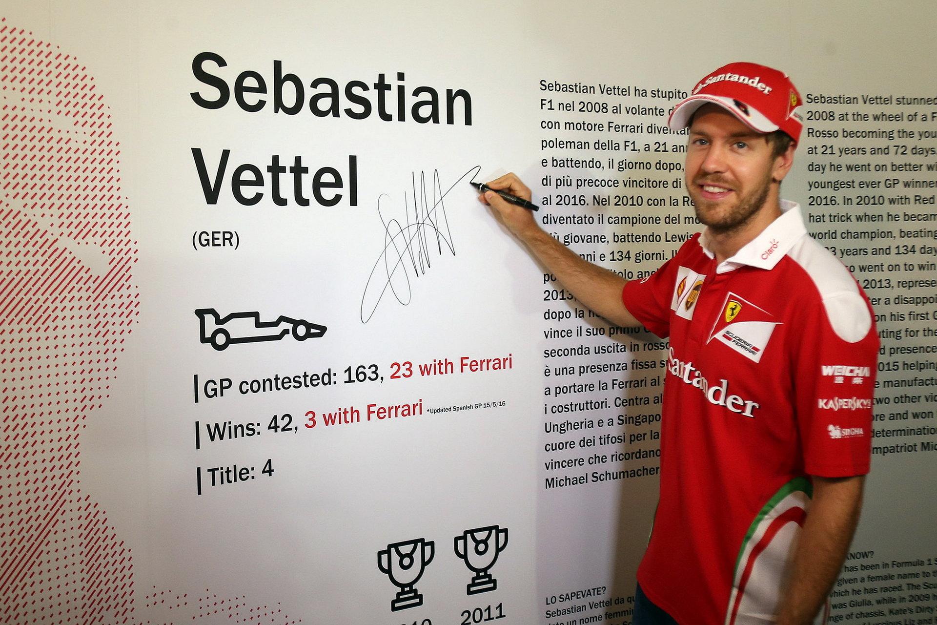 Vettel: Trpělivost není charakteristický rysem závodního jezdce - anotační foto