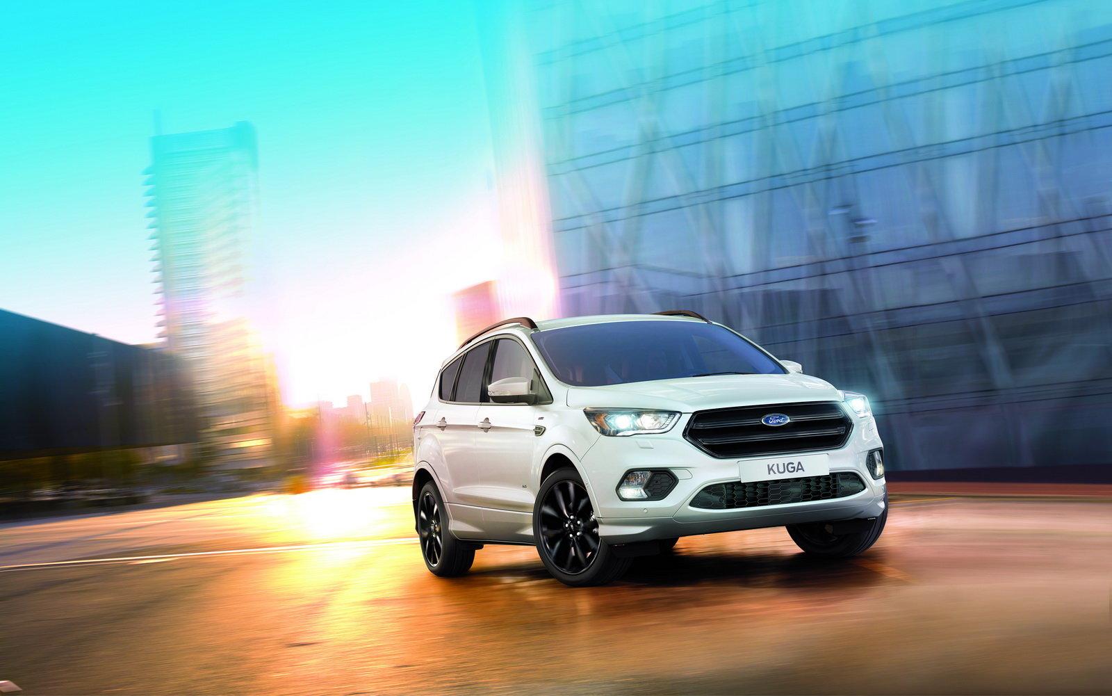 Ford zkouší výrobu sportovního SUV, Kuga ST-Line má ale zásadní nevýhodu - anotační foto