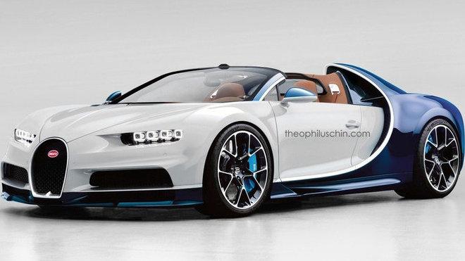 Bugatti Chiron Targa