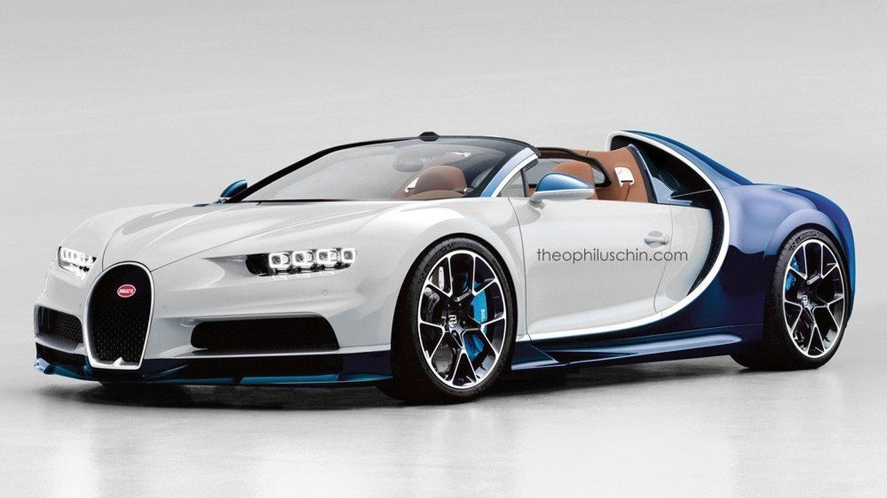 Otevřené Bugatti Chiron Roadster má nahnutý osud. Proč? - anotační foto