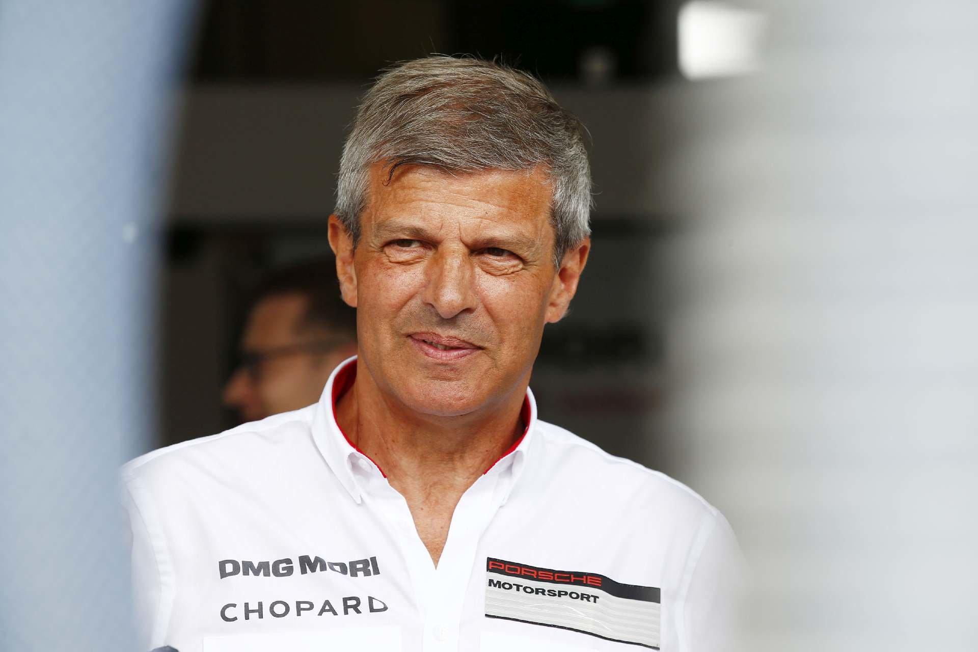 Fritz Enzinger, víceprezident programu LMP Porsche AG