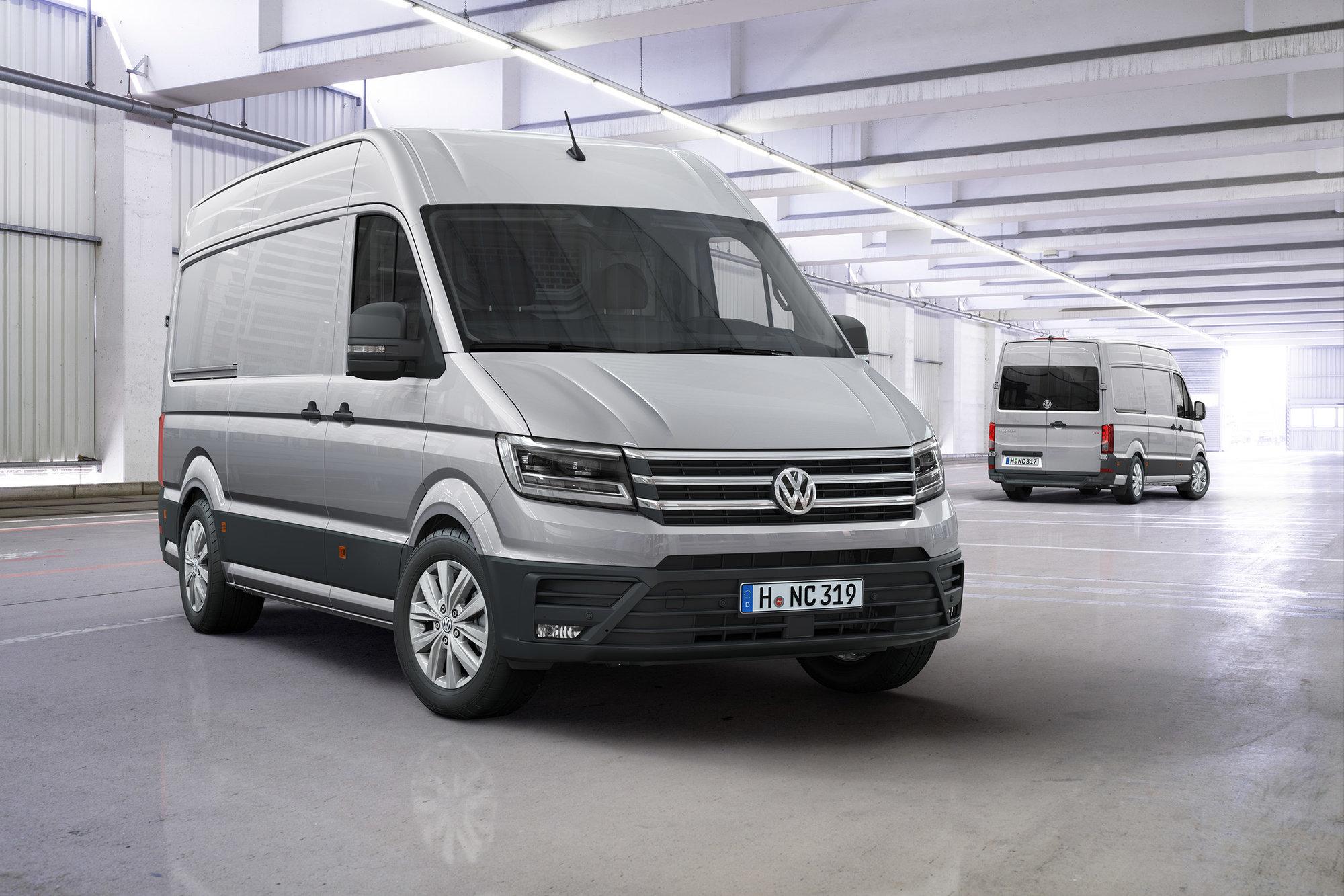 Osobní vůz mezi dodávkami, to je nový Volkswagen Crafter - anotační foto
