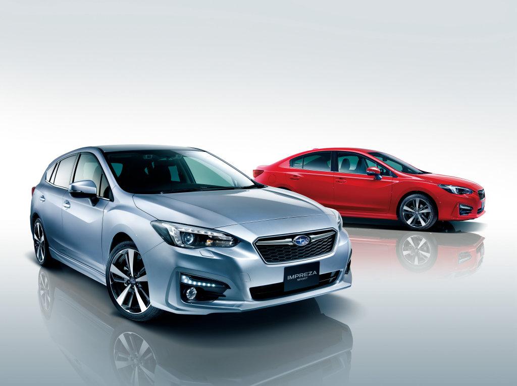 Subaru Impreza dostane airbag pro chodce, prodej začne na podzim - anotační foto