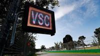 Virtual Safety Car stanoví v místě jeho použítí omezenou rychlost závodních vozů