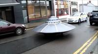 UFO v Irsku mělo i policejní doprovod.