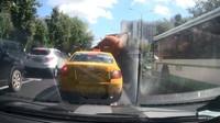Nehoda fekálního vozu v Rusku.