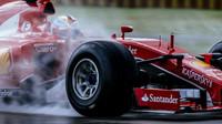 Test pneumatik Pirelli pro sezónu 2017 ve Fioranu