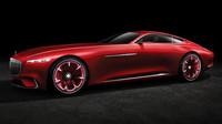 Vision Mercedes-Maybach 6 vypadá naprosto fantasticky.