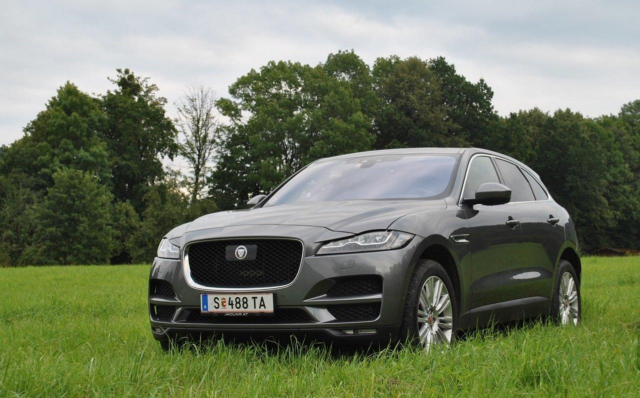 TEST: Jaguar F-Pace 2.0d AWD: Útok na Německo - anotační foto