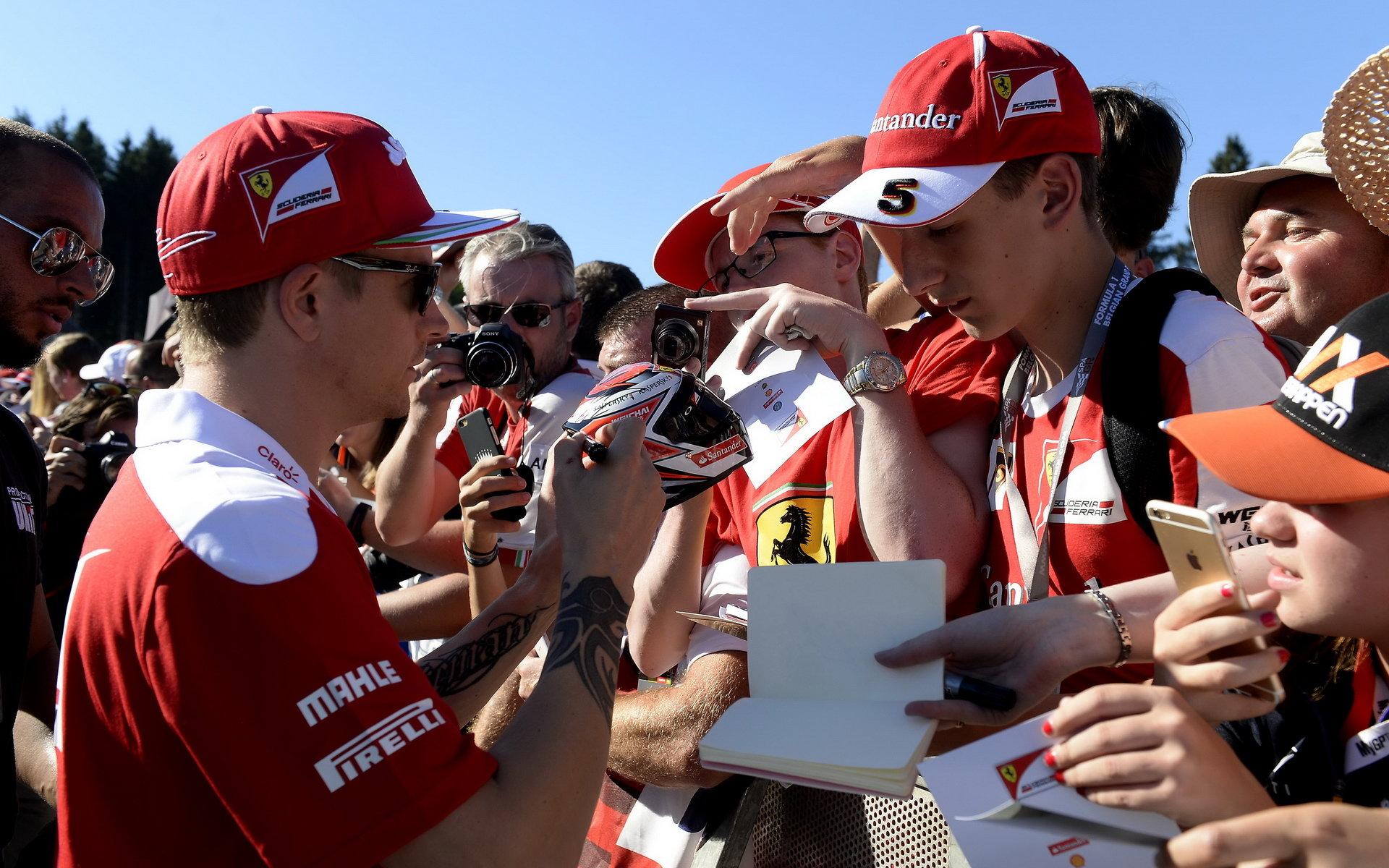 Räikkönen managementu Ferrari věří, zopakuje Iceman závod před sedmi lety? - anotační obrázek