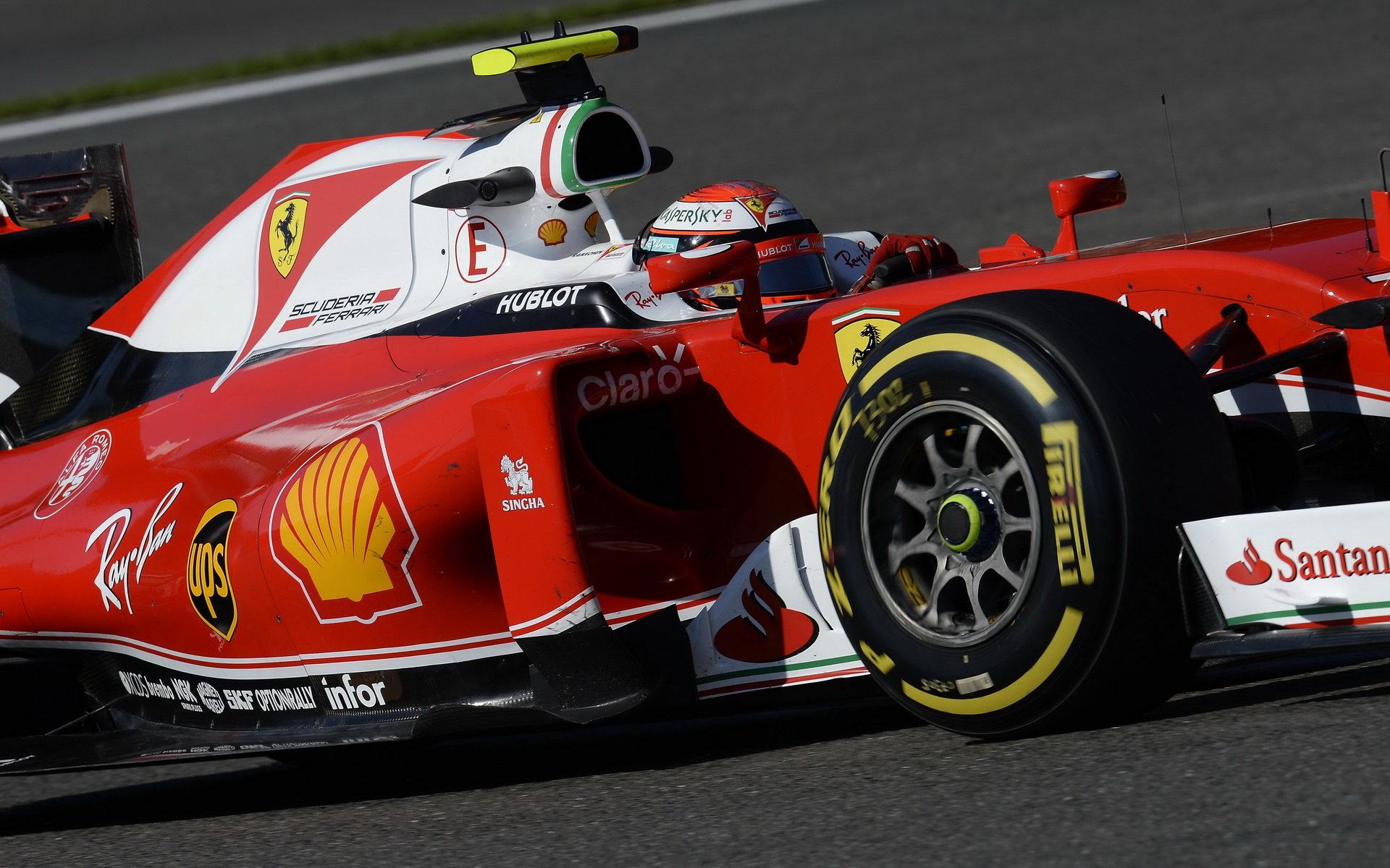Třetí trénink: Räikkönen nejrychlejší, Verstappen v problémech - anotační obrázek
