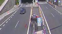 Jedna z nehod, co se stala ve slovenských tunelech.