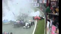 VIDEO: Spa 1998 - největší hromadná havárie v F1 a vyřízení účtů dvou hvězd - anotační foto