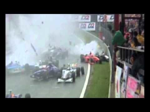 VIDEO: Spa 1998 - největší hromadná havárie v F1 a vyřízení účtů dvou hvězd - anotační obrázek