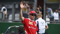 Kimi Räikkönen v Belgii