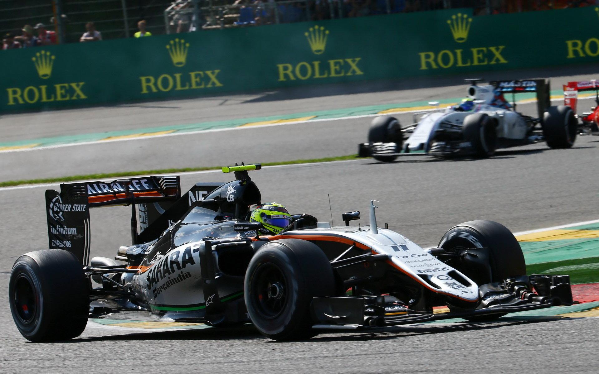 Boj s Williamsem se protáhne až do posledního závodu, odhaduje Force India - anotační obrázek