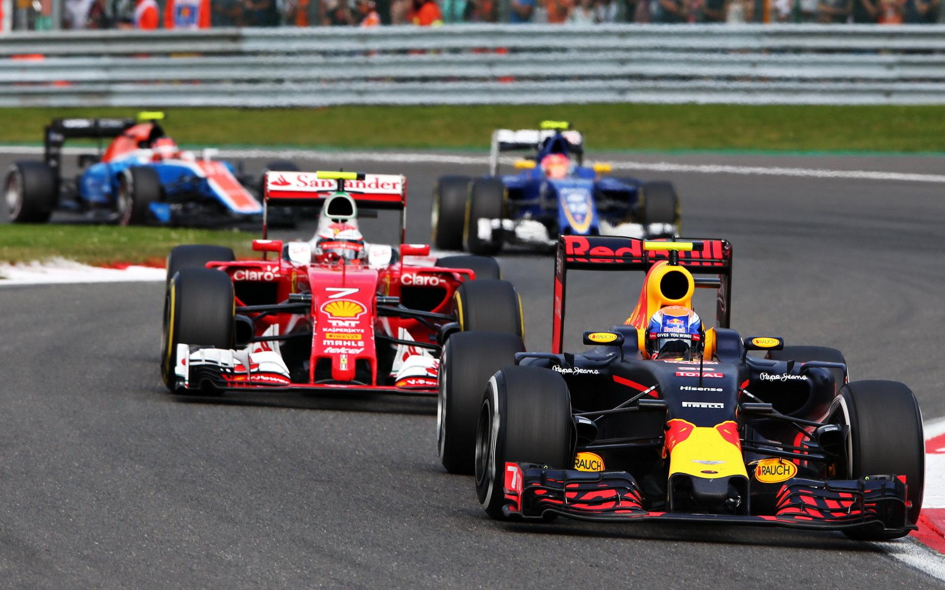 Jak hodnotí šéf Red Bullu Verstappenovy manévry v Belgii? - anotační foto