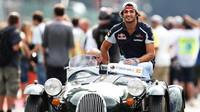 Carlos Sainz před závodem v Belgii