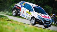 Václav Dunovský na Barum Rally s nejrychlejším Peugeotem - anotační obrázek