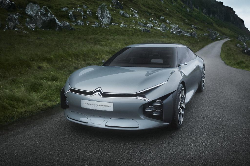 Vzhled nového Citroënu C5 naváže na koncept CXperience.
