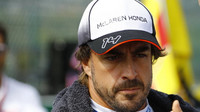 Fernando Alonso v Belgii