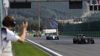 Fernando Alonso sedmý v pořadí v cíli závodu v Belgii