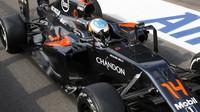 Fernando Alonso po závodě v Belgii
