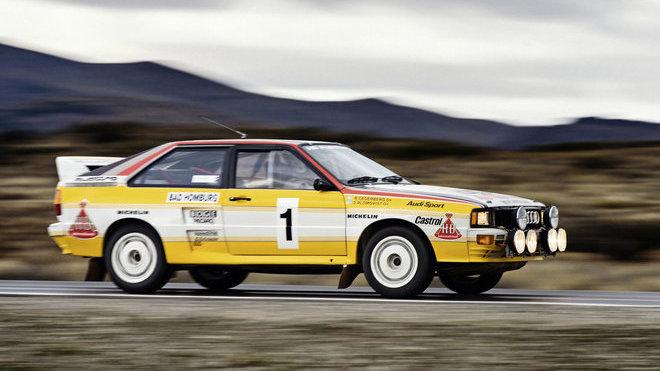 Audi Quattro A2 skupiny B, rok výroby 1983